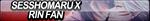 Sesshomaru X Rin Fan Button by ButtonsMaker