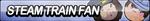 Steam Train Fan Button by ButtonsMaker