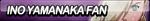 Ino Yamanaka Fan Button by ButtonsMaker