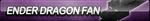 Ender Dragon Fan Button by ButtonsMaker