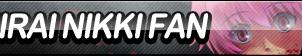 Mirai Nikki Fan Button by ButtonsMaker