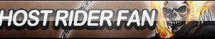 Ghost Rider Fan Button by ButtonsMaker