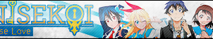 Nisekoi Fan Button by ButtonsMaker