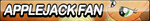 Applejack Fan Button (Resubmit) by ButtonsMaker