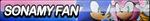 SonAmy Fan Button (Resubmit) by ButtonsMaker