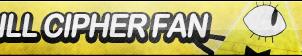 Bill Cipher Fan Button by ButtonsMaker