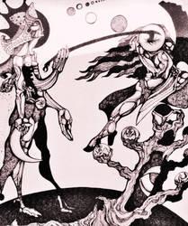 DESTROYER OF MOONS by LYNN KAUFFMAN by lynnkauffman