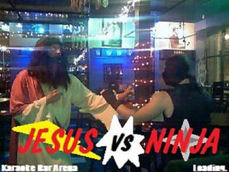 Jesus VS. Ninja by EvilAtom