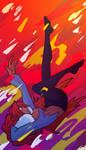 Opal the falling star by XDeadDragonX98