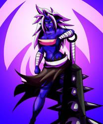 Oni Riki by XDeadDragonX98