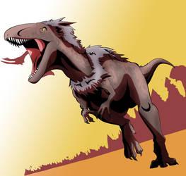 Megalosaurus by XDeadDragonX98