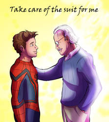 Rest in peace Stan Lee by XDeadDragonX98