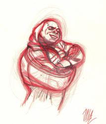 Kai Greene Sketch by JPGArt