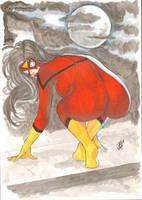 Spider Woman  by josileudo
