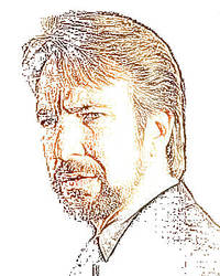 Alan Rickman Cartoony by Sonny-sam