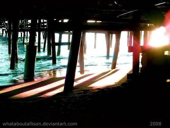 Neon Beach by WhatAboutALLISON