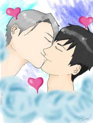 Viktuuri Kiss by artbyaimee