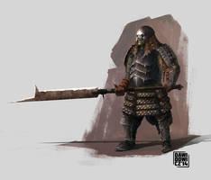 Orc-Samurai 2 by adamdawidowicz