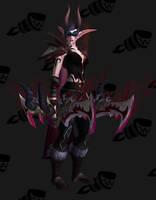 Demon Hunter Artifact Transmog Set Legion #5 WoW by BigDamnCompletionist