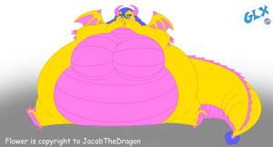 Flower-got-huge (RequestPrize for JacobTheDragon) by GreatLizardX