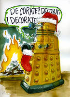 HolidayDalek web by its-a-fiendishthingy