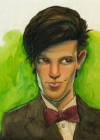 The Eleventh Doctor by its-a-fiendishthingy