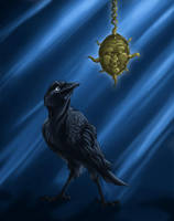 Raven Steals the Sun by phantastus