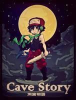 Mr. Traveler (cave story fan art) by ClockWorkInc