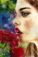 Rose Garden by SquirrelGirl15