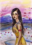 Pocahontas by SquirrelGirl15
