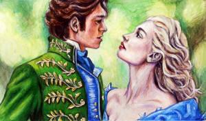 Cinderella--(original for sale!) by SquirrelGirl15