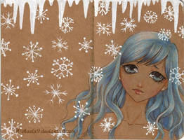 Winter Moleskine by Michaela9