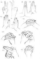 Practice - Hands 04 by TakataRikuzen
