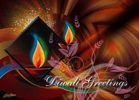 Diwali Card by satishverma
