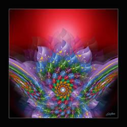 Rising Flower by satishverma