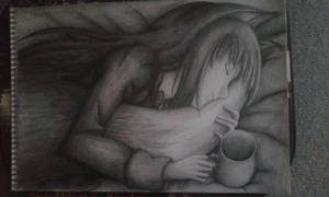 Horo Spice and Wolf A3 Handdrawn by 0HELIKAON0