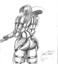 Raine sketch2 by JoseMiguelBatistajr