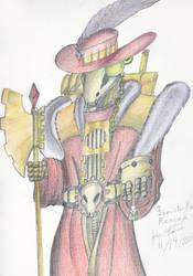 Inquisitorial Pimplord Remliez Colored Pencils by JoseMiguelBatistajr