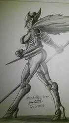 StelValk-Bikini-armor by JoseMiguelBatistajr