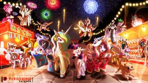 NATSUMATSURI (Summer Festival) by PhoenixPeregrine