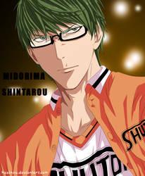 Midorima Shintarou - kuroko no basket by hssinou