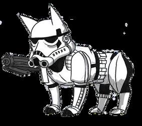 Storm Corgi Trooper by Angel-Wing101