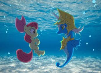 My Little Aqua Pony by Angel-Wing101