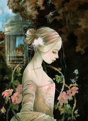 Mademoiselle Rose - Rose by nati