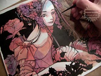 Violet - In progress by nati