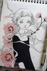2017 Sketchbook - 1 by nati