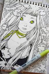 2017 Sketchbook - 07 by nati