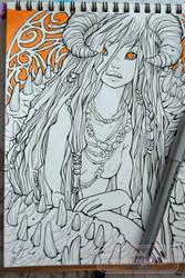 2017 Sketchbook - 09 by nati