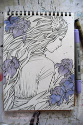 2017 Sketchbook - 10 by nati