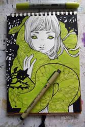 2017 sketchbook - 12 by nati